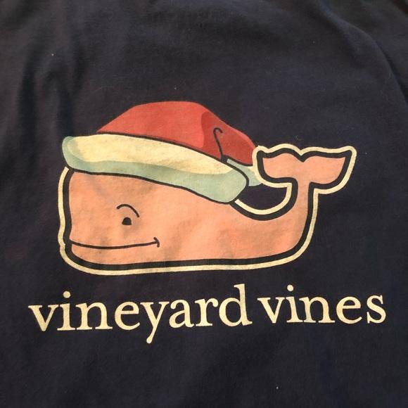 Vineyard Vines Other - Vineyard Vines Christmas Santa Whale Long Sleeve
